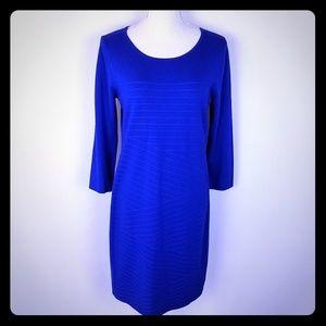 Kate & Mallory Royal Blue Sweater Dress Size Mediu